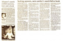 """""""Adoptee's Search"""""""