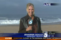 Big Surf Rolls Into SoCal Beaches
