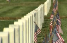 Memorial Day Marked at L.A. National Cemetery