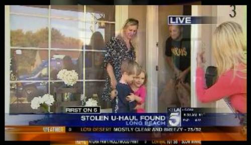Stolen U-Haul Truck Found