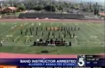 Band Instructor Arrested