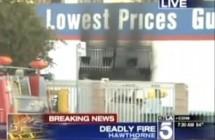 Auto Shop Fire